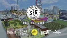 Social Fun & Games Club at Stratford's Roof East. Birdies Crazy Golf is back with an even more challenging course and there'll be a packed programme of film screenings as well as the brand new Rooftop Rollers disco, hip-hop inspired lawn bowls from De La Bowl and Sluggers, London's first batting cage experience. Opens Thurs 4th May 2017