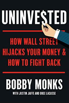 """Uninvested"" is a short, easy-to-read book that encourages you to take control of your investment portfolio and gives easy suggestions on how to do so."