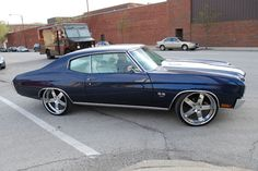 70 chevelle style: vellano VSK finish: chrome wheel size: F: 22x9.5 R: 22x9.5. like asanti af118