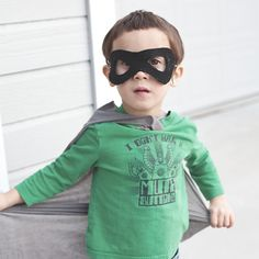 Superhero mask craft or party favor!