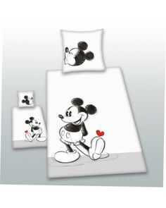 Mickey Mouse Partner 100% cotton duvet cover set