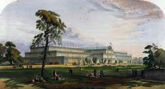 Crystal Palace from the northeast from Dickinson's Comprehensive Pictures of the Great Exhibition of 1851. 1854 - The Great Exhibition – Wikipedia