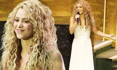 Shakira performs John Lennon's Imagine for Pope at UN General Assembly