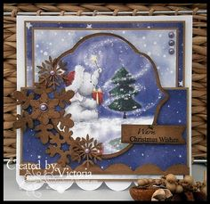 Vixx Handmade Cards: WILD ROSE STUDIO DT CARD ~ XMAS BELLA...
