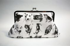 The Pooch Clutch by artist Colleen Rudolph is a locally-sourced, eco-conscious, handcrafted, animal-free, made-in-America dream accessory.  It is a work of art as evening bag that inspires on every level.