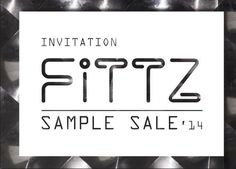 Fittz Sample Sale Rotterdam -- Rotterdam -- 04/08-17/08