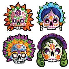 Day Of Dead Mask #Día de los Muertos