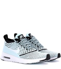 Nike Air Max Thea Ultra Flyknit light blue sneakers