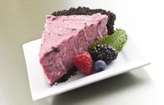 Mixed Berries with Chocolate Crust