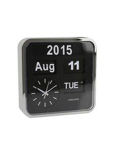 Mini Flip Wall Clock