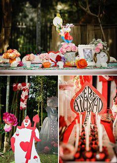 COOP party at home / Alice in Wonderland Birthday Party {Whimsy + Fantasy}