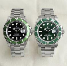 Who wore it best 💚 Kermit or 💚 Hulk? Luxury Watches, Rolex Watches, Watches For Men, Swiss Made Watches, Swiss Army Watches, Rolex Submariner, Ring For Boyfriend, Mens Designer Watches, Rolex Tudor