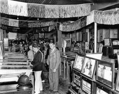 Pinball Parlour Arcade 1950s Vintage 8x10 Reprint Of Old Photo