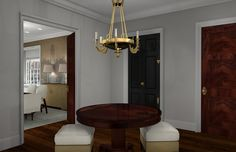 Interior 3drendering hall way