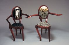 He wanted to try a new dance step .But Naughty Chair was still mad at him  for flirting  with the horrible step stool
