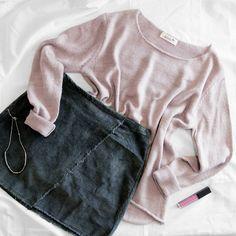 ¡Listas para comenzar un nuevo día!  #algobonito #algobonitoenotoño #nuevacoleccion #nuevo #moda #fashion #style #new  #falda #lookoftheday #ootd #tendencias #fall #otoño #newcollection #shopping #novedades #timeforshopping