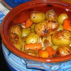 Πατάτες ψημένες στη γάστρα - gourmed.gr