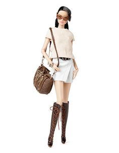 W Club 2014 Upgrade doll: Fashion Explorer Vanessa FR dol