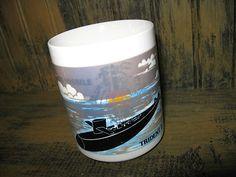 Collectible1988 BLACK SUBMARINE Ballistic Missile Trident D5 temp color change Coffee Mug