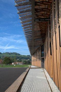 Collège de Chirens, Chirens, 2012 - Herault Arnod Architectes