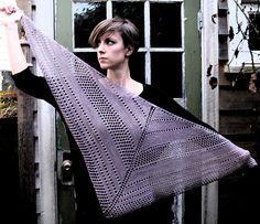 Ravelry: Bella Dean Shawl pattern by Amanda Kaffka