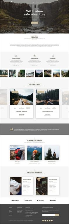 Dolomia is a unique and creative responsive #HTML #Bootstrap template for building Mountain #Guide, #Outdoor, Hiking, Photography and Travel websites download now➩ https://themeforest.net/item/dolomia-hiking-outdoor-mountain-guide-html-template/18968959?ref=Datasata