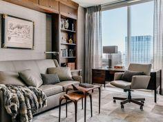 Study — Candace Barnes San Francisco Design, Study, Curtains, Room, Home Decor, Bedroom, Studio, Blinds, Decoration Home