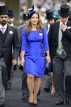 HRH Princess Haya of Jordan and her husband, Sheikh Mohammed of Dubai