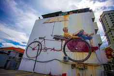 Beautiful Street Arts by Ernest Zacharevic