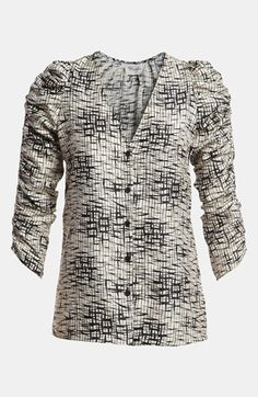 Devlin Ruched Sleeve Top available at Nordstrom