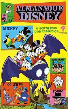 Almanaque Disney  n° 93/Abril | Guia dos Quadrinhos