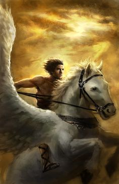 Character art tutorial, Perseus and Pegasus. In this tutorial, I will show you step by step how I create Perseus and Pegasus illustration. Most of the time, when I receive an assignment, I have something in mind. I will start with thumbnails then comps. Once I have that I will start my sketch and bring …