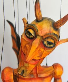 Winged Devil, Axa Marionettes.