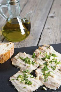 Sardines grillées au citron et au thym