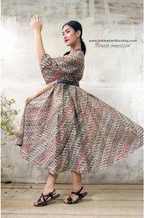 batik amarillis's amarantha dress(excluded obi belt)