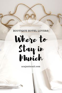 When you're planning a trip to Munich, you'll have many places to stay in Munich to consider. If you want authentic Bavarian culture, then there's only one choice: Hotel Laimer Hof! Read about our recent stay in this charming boutique hotel in Munich!