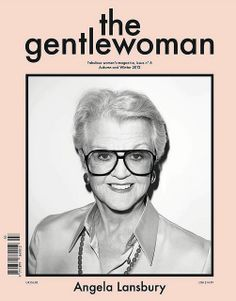 The Gentlewoman. Angela Lansbury photographed by Terry Richardson.
