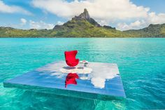 Blog :: Art :: At the Le Méridien hotel in Bora Bora