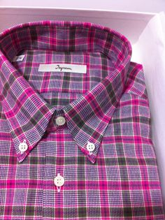 NIB $275  Ingram Italian Artisanal premium beautiful casual shirt 16/41US~Full40 #Ingram #ButtonFront