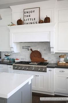 The Sunny Side Up Blog - White Kitchen