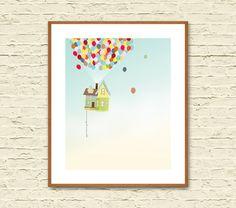UP: Minimalist Movie Posters. Up Pixar. Up Poster. Up Movie. Alternative Movie Poster. Minimalist Poster. Giclee Art Print.