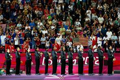 Images from the women's basketball medal ceremony. The U.S. won its historic fifth straight gold, while France earned silver and Australia captured bronze.