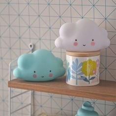 veilleuse mini Nuage blanc A little lovely company - Deco Graphic