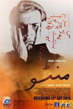 manto movie pakistani Pakistani Movies, Latest Movies, Old Movies, Watches Online, Movies Online, Feelings, Movie Posters, Films, Film Poster