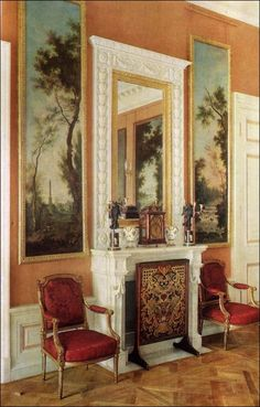 Crimson Room - Pavlovsk Palace & Park - Country Residence of the Russian Imperial Family