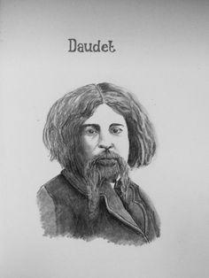 Sketch I did of Daudet in Fontvieille
