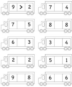 Math Addition Worksheets, Kindergarten Math Worksheets, 1st Grade Worksheets, Writing Worksheets, Kindergarten Writing, Worksheets For Kids, Math Activities, Math Drills, Learning English For Kids