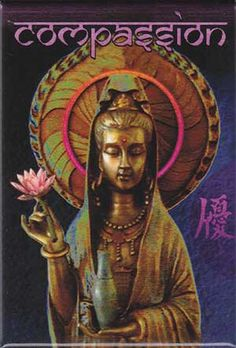 Quan Yin is so beautiful, she has much to teach us.