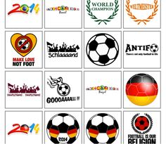 f5cc9287fa29ba Individuelle Fussball WM Deutschland Fan Trikots   T-Shirts selbst  gestalten und bedrucken - cool