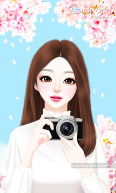 41 Best ideas for disney art sketches pictures Cartoon Girl Images, Cute Cartoon Girl, Cool Anime Girl, Beautiful Anime Girl, Anime Art Girl, Cute Girl Drawing, Cute Drawings, Anime Korea, Korean Anime